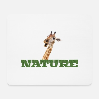 Nature Giraffe Natur Nature - Mouse Pad