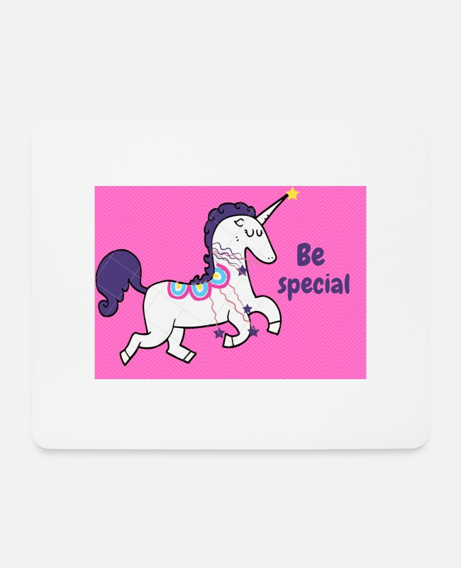 Specifically Mouse Pads - Be special - Mouse Pad white