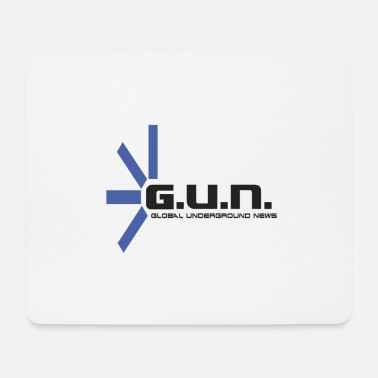 Underground Logo GUN Global Underground News - Tappetino per mouse (orizzontale)