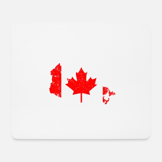 Country Mousepads  - Kanada - Mousepad Weiß