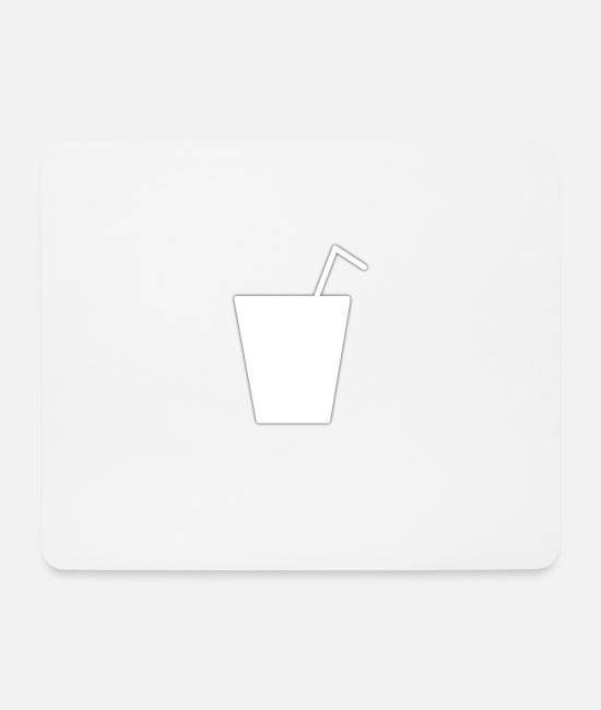 Hardstyle Mouse Pads - drink - Mouse Pad white