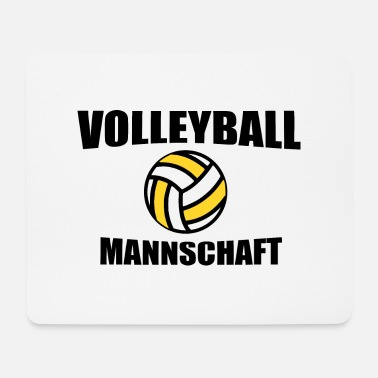 Team Volleyball team team - Mouse Pad
