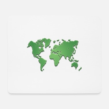 World World world map - Mouse Pad
