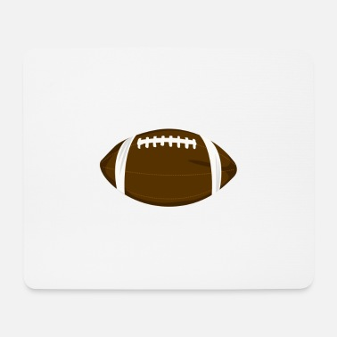 Spielball Spielball American Football - Mousepad