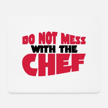 Chef chef - Mousepad
