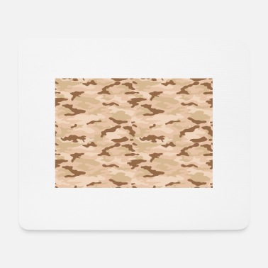 Camoflage desert camo - Mouse Pad