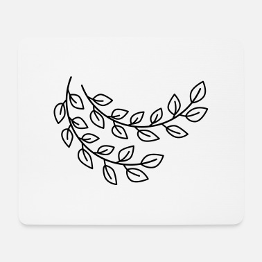 floral branch - Mouse Pad