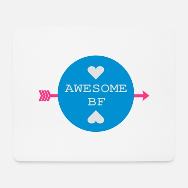 Bf Awesome BF typo - Mouse Pad