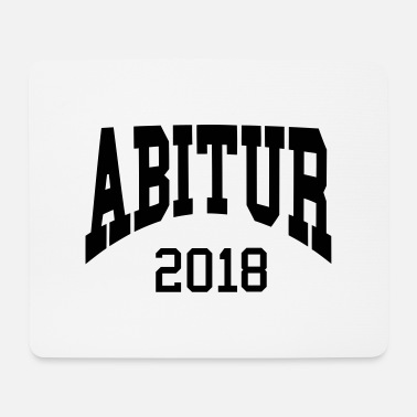 Retro Abitur 2018 Collegestyle - Mousepad