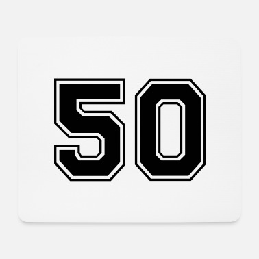 50s 50 - Mouse Pad