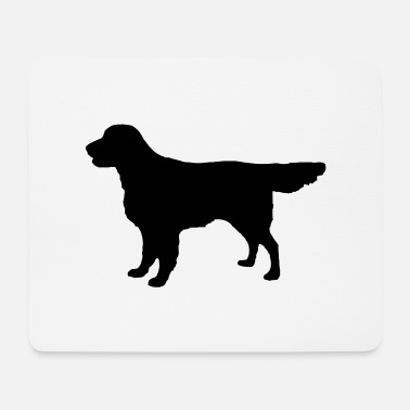 Flatcoat Retriever Dog - Mouse Pad