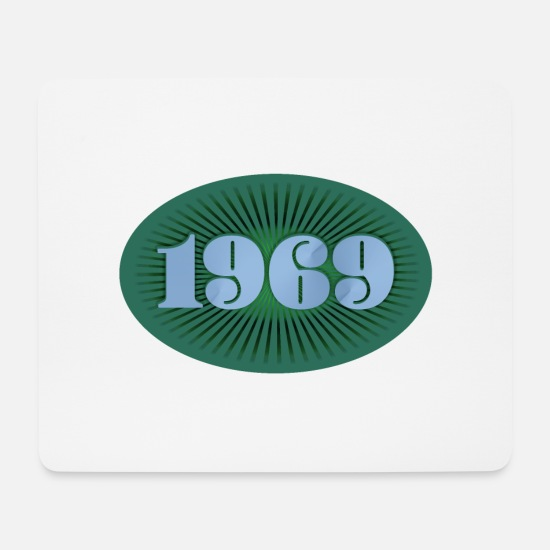 Birthday Mouse Pads - 1969 year of birth - Mouse Pad white