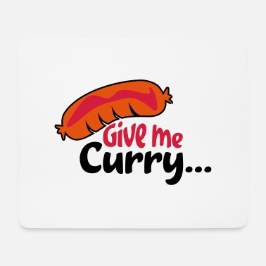 Currywurst currywurst - Mouse Pad