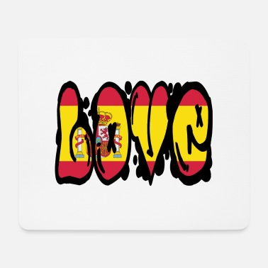 Spain Love Spain - graffiti - Mouse Pad