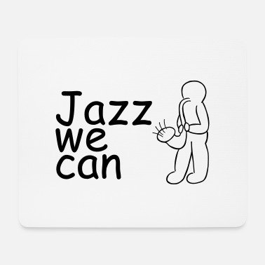 Keith Haring Jazz Sax - Mousepad
