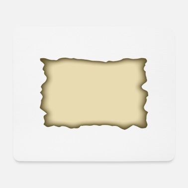 Parchment parchment rectangle - Mouse Pad
