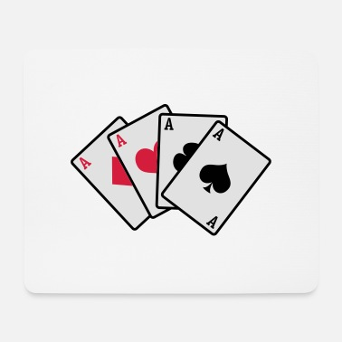 Cards poker cards - Mousepad