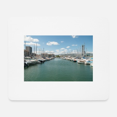 Harbour French Boat harbour - Mouse Pad