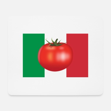 Italienflagge Tomate - Mousepad