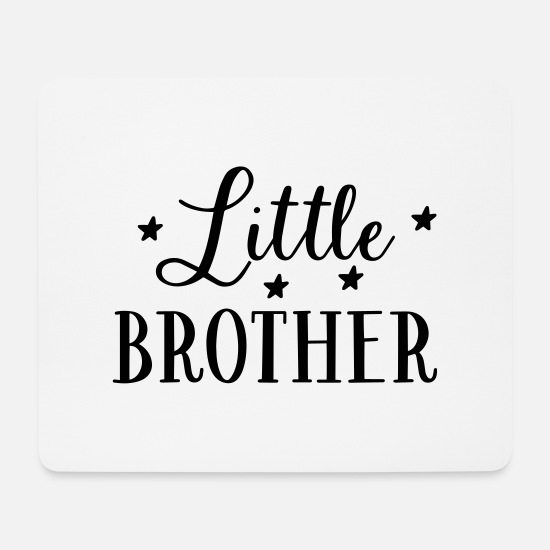 Siblings Mouse Pads - Brother siblings family gift - Mouse Pad white