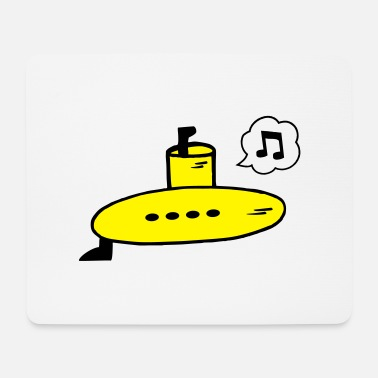Singing Yellow Submarine - Mouse Pad