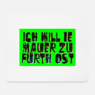 Walls Fell Fuerth wall - Mouse Pad