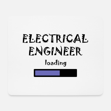 Student Electrical Engineer, Student Studium Cool Lustig - Mousepad