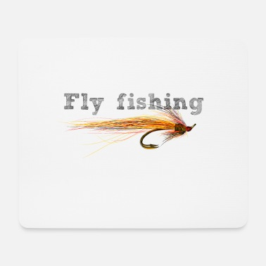 Pesca fly fishing hook - Mouse Pad