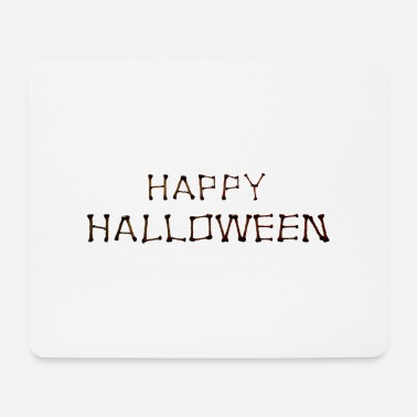 HAPPY HALLOWEEN BONES - Mouse Pad