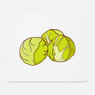 Sprouts Brussels sprouts Brussels cabbage sprouts cabbage sprouts - Mouse Pad