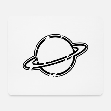 Planeten planet - Mousepad