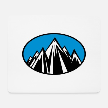 Mountains mountains - Mousepad