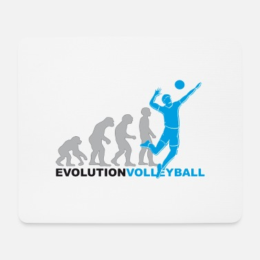 Volleyball Player Evolution volleyball, volleyball, volleyball players - Mouse Pad