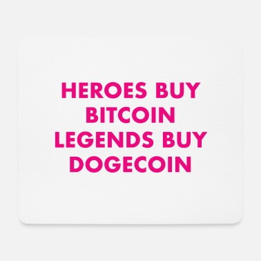 Cash legends buy dogecoin pink - Mousepad