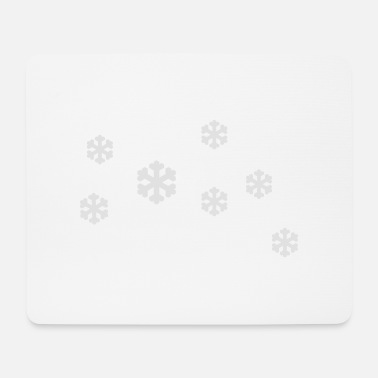 Snow Crystal snow crystals - Mouse Pad