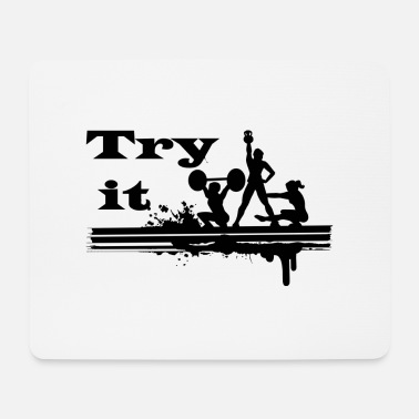 Try Try Try Try it - Mouse Pad