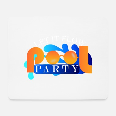 Pool Pool Party - Tapis de souris (format paysage)