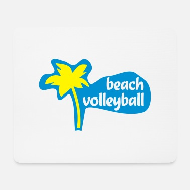 Beachvolleyball beachvolleyball - Mousepad