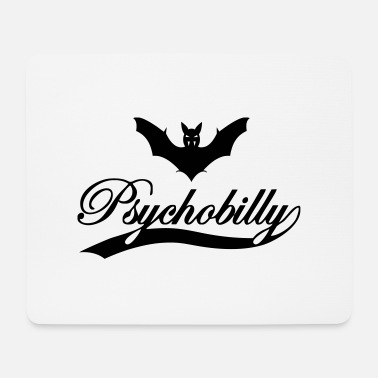 Psychobilly psychobilly bat - Mouse Pad