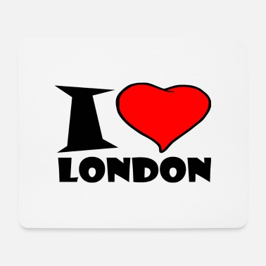 London London / Ich Liebe london - Mousepad