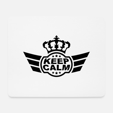 Keep Calm Keep Calm - Tappetino mouse