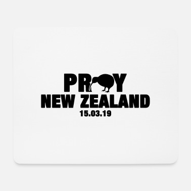 pray for new zealand - Mousepad