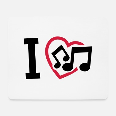I Love Music i_love_music_f2 - Mouse Pad