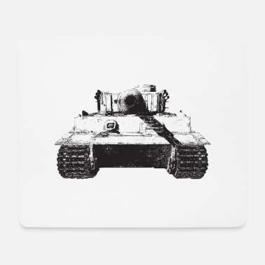 World tiger, PzKpfw VI - Mouse Pad