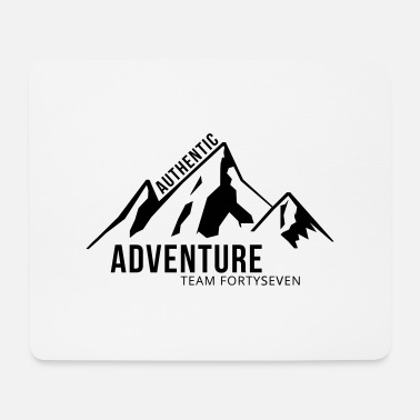 Authentic Authentic Adventure - Mousepad