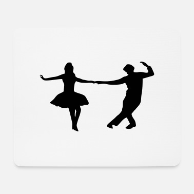 Dance Couple dancing couple - Mouse Pad