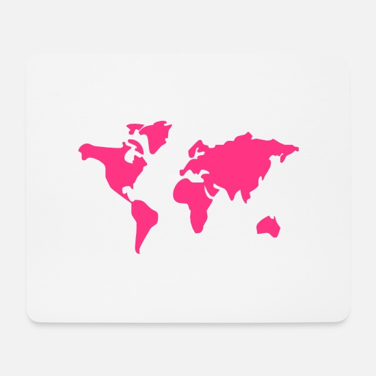 Earth Mouse Pads - world of - Mouse Pad white