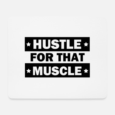 Muskel Hustle for den muskel - Mousepad (bredformat)