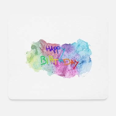 Happy Birthday Happy Birthday Birthday Party Festive Gift Child - Tappetino per mouse (orizzontale)