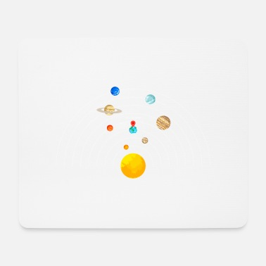 You are here Solar System - Mouse Pad